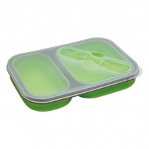 Lunch Set REFLECTS-SILLIAN LIGHT GREEN L