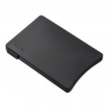 Kartenetui mit RFID Ausleseschutz REFLECTS-MONASTIR BLACK