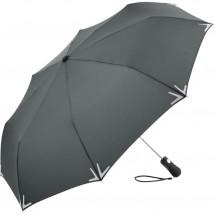 AC-Mini-Taschenschirm Safebrella® LED - grau