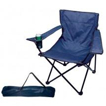 Faltbarer Sessel - dunkelblau