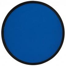 Frisbee, faltbar mit Etui aus Polyester - blau