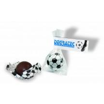 Süßer Fußball, Edelvollmilchschokolade - weiß