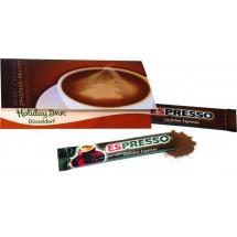 Klappkärtchen Kaffeepause - braun