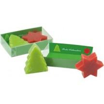Weihnachtliche Seifen-Träume - grün