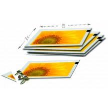 Samentütchen 80x55 mm, Zwergsonnenbl. - gelb