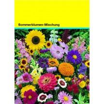 Samentütchen 82x114 mm, Blumenmischung - gelb