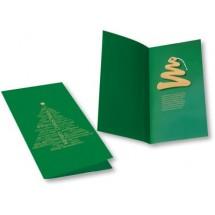 Weihnachtskarte Tannenbaum