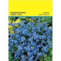 Samentütchen 82x114 mm, Vergissmeinnicht - blau