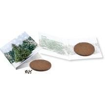 Wachstumskärtchen Weihnachtsbaum - grün
