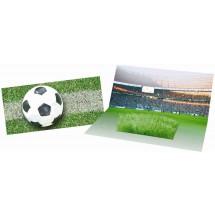 Mini-Arena Karte, Fußballfeld, Rasen - grün