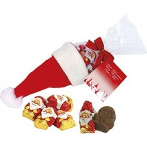 Nikolaus-Mütze - rot