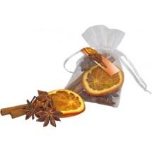 Duftsäckchen Weihnachtsgewürze - orange
