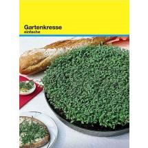 Samentütchen 82x114 mm, Kresse - grün