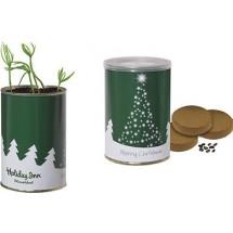 Weihnachtsbaum-Dose, Fichte - grün