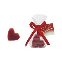 Herz-Seife - rot