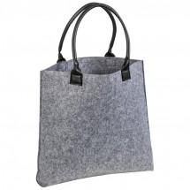 Einkaufstasche aus Filz - grau