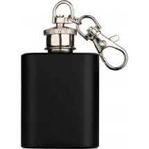 ZORR Flachmann 1OZ/28,3 ml Schlüsselanhänger-schwarz matt