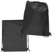 Polyester Gymbag - schwarz