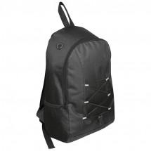 Rucksack aus Polyester - schwarz