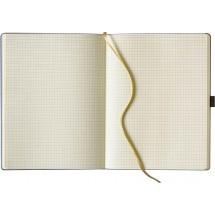 Notizbuch IVORY kariert, large - schwarz