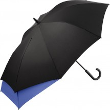 AC-Midsize-Stockschirm FARE®-Stretch - schwarz-euroblau