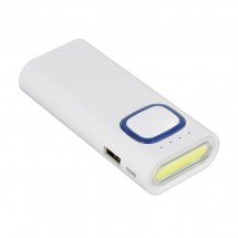 Powerbank mit COB LED Taschenlampe REFLECTS-COLLECTION 500