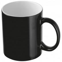 Kaffeetasse aus Keramik - schwarz