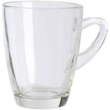 Tasse aus Glas mit einem Füllvermögen von 320 ml - transparent