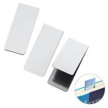 Lesezeichen Magnet - weiß