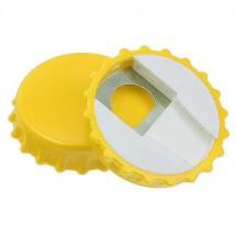 Flaschenöffner und -schließer - gelb
