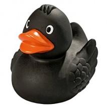 Quietsche-Ente schwarz - schwarz