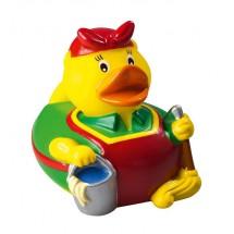 Quietsche-Ente Putzfee - gelb