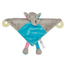 Schmusetuch Elefant - bunt