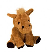 Zootier Pferd Claudia - braun