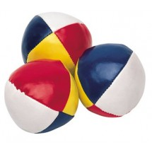 Jonglierball mit 4 Segmenten - bunt