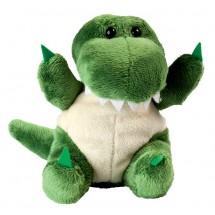 Plüsch Krokodil Jonas - dunkelgrün
