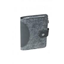 Polyesterfilz Blockhalter A6 - grau