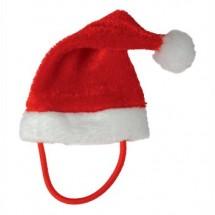 Weihnachtsmütze für Plüschtiere Gr. XS - rot