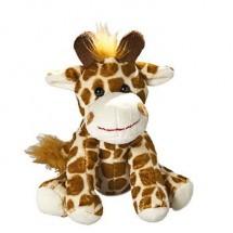 Zootier Giraffe Gabi - braun
