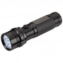 Taschenlampe mit 14 LED in Box - schwarz