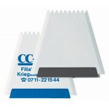 Trapez-Eiskratzer - White-blau
