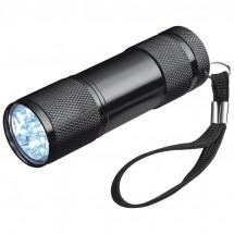 Taschenlampe mit 3 Batterien in einer Box - schwarz