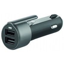 "Metmaxx® Car Charger ""SafetyKey"" - schwarz"