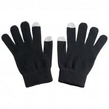 Handschuhe aus Acryl mit 2 Touch-Spitzen - schwarz