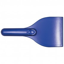 Eiskratzer transparent gefrostet - blau