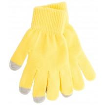 Handschuhe für Touchscreen ''Actium'' - gelb