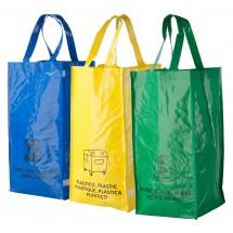 Tasche ''Lopack'' - blau/gelb/grün