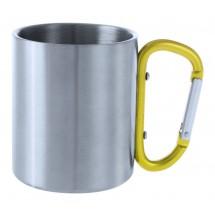 Metalltasse ''Bastic'' - gelb