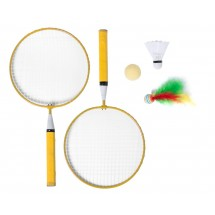 Badmintonset ''Dylam'' - gelb