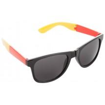 Sonnenbrille ''Mundo'' - schwarz/rot/gelb